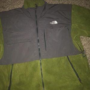 The North Face Men's Denali Green Fleece Jacket